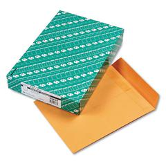 Redi Seal Catalog Envelope, 9 1/2 x 12 1/2, Brown Kraft, 100/Box