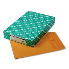 Quality Park Redi-Seal Catalog Envelope, 10 x 13, Brown Kraft, 100/Box