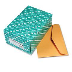 Open Side Booklet Envelope, 15 x 10, Brown Kraft, 100/Box