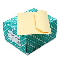 Open Side Booklet Envelope, 12 x 9, Cameo Buff, 100/Box