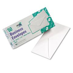 Quality Park White Wove Business Envelope Convenience Packs, #10, 50/Box
