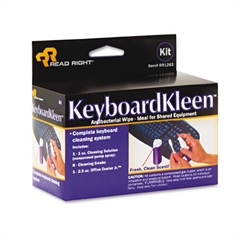 Read Right KeyboardKleen Kit, 2.5oz Pump Spray