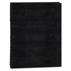 NotePro Executive Notebook, College/Margin Rule, 11 x 8 1/2, WE, 100 Sheets