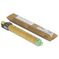 Ricoh 820008 High-Yield Toner, 15000 Page-Yield, Yellow