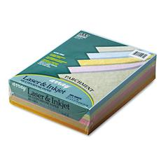 Pacon Array Colored Bond Paper, 24lb, 8-1/2 x 11, Assorted Parchment, 500 Sheets/Ream