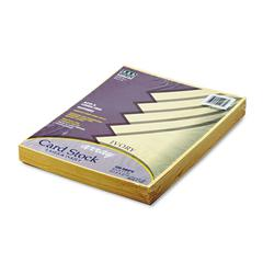 Pacon Array Card Stock, 65 lb., Letter, Ivory, 100 Sheets/Pack