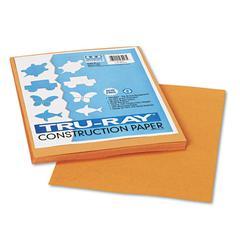 Tru-Ray Construction Paper, 76 lbs., 9 x 12, Tan, 50 Sheets/Pack