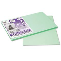 Pacon Tru-Ray Construction Paper, 76 lbs., 12 x 18, Light Green, 50 Sheets/Pack