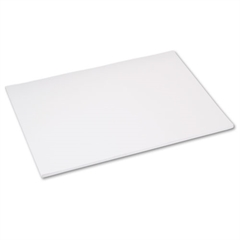 Tru-Ray Construction Paper, 76 lbs., 18 x 24, White, 50 Sheets/Pack