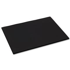 Pacon Tru-Ray Construction Paper, 76 lbs., 18 x 24, Black, 50 Sheets/Pack