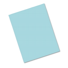 Riverside Construction Paper, 76 lbs., 18 x 24, Blue, 50 Sheets/Pack