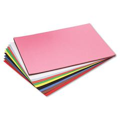 Riverside Construction Paper, 76 lbs., 18 x 24, Assorted, 50 Sheets/Pack