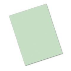 Pacon Riverside Construction Paper, 76 lbs., 9 x 12, Light Green, 50 Sheets/Pack