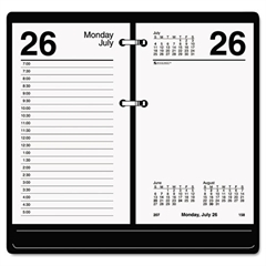 AT-A-GLANCE Recycled Desk Calendar Refill, 3 1/2 x 6, White, 2017