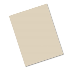 Pacon Riverside Construction Paper, 76 lbs., 9 x 12, Light Brown, 50 Sheets/Pack