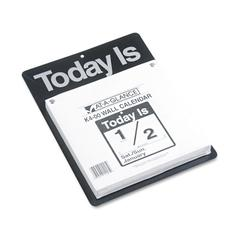 "AT-A-GLANCE ""Today Is"" Wall Calendar, 9 3/8 x 12, White, 2017"