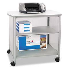 Impromptu Deluxe Machine Stand, 34-3/4w x 25-1/2d x 31h, Gray