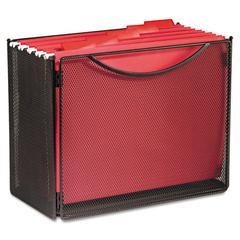 Desktop File Storage Box, Steel Mesh, 12-1/2w x 7d x 10h