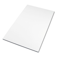 Safco Drafting Table Top, Rectangular, 60w x 37-1/2d, White