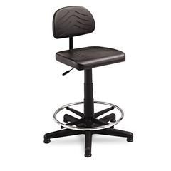 TaskMaster Series EconoMahogany WorkBench Chair, Black