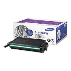 CLPK660B High-Yield Toner, 5500 Page-Yield, Black