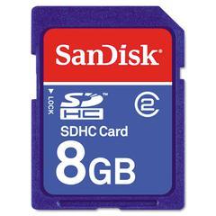 SDHC Memory Card, Class 4, 8GB