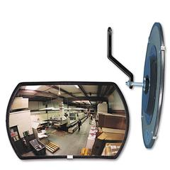 "See All 160 degree Convex Security Mirror, 18w x 12"" h"