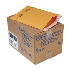 Sealed Air Jiffylite Self-Seal Mailer, Side Seam, #1, 7 1/4 x 12, Golden Brown, 25/Carton