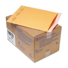 Jiffylite Self Seal Mailer, #4, 9 1/2 x 14 1/2, Gold Brown, 25/Carton