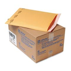 Sealed Air Jiffylite Self-Seal Mailer, Side Seam, #5, 10 1/2 x 16, Golden Brown, 25/Carton