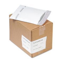 Sealed Air Jiffy TuffGard Self-Seal Cushioned Mailer, #0, 6 x 10, White, 25/Carton