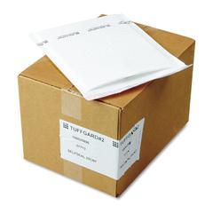 Jiffy TuffGard Self Seal Cushioned Mailer, #2, 8 1/2 x 12, White, 25/Carton