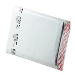 Sealed Air Jiffylite Self-Seal Mailer, Side Seam, #2, 8 1/2 x 12, White, 100/Carton