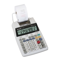 EL-1750V Two-Color Printing Calculator, Black/Red Print, 2 Lines/Sec