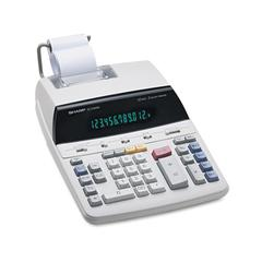EL2192RII Two-Color Roller Printing Calculator, Black/Red Print, 3 Lines/Sec