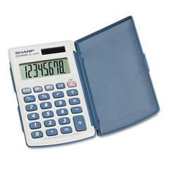 EL-243SB Solar Pocket Calculator, 8-Digit LCD