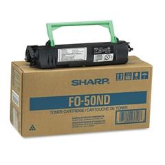 Sharp FO50ND Toner/Developer Cartridge, 6000 Page-Yield, Black