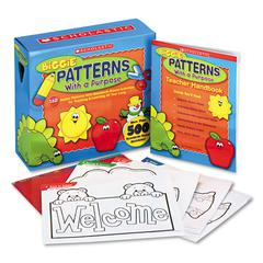 Scholastic Biggie Patterns with a Purpose Reproducible Pages, Grades Pre K-2
