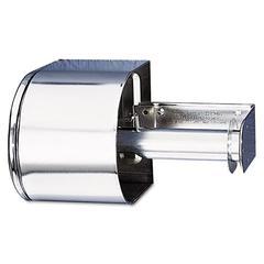Covered Reserve Roll Toilet Dispenser, 10 x 6 1/4 x 6, Chrome