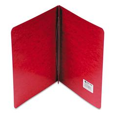 "ACCO Pressboard Report Cover, Prong Clip, Letter, 3"" Capacity, Red"