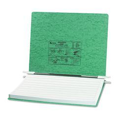"ACCO PRESSTEX Covers w/Storage Hooks, 6"" Cap, 14 7/8 x 11, Light Green"