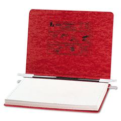 "PRESSTEX Covers w/Storage Hooks, 6"" Cap, 12 x 8 1/2, Executive Red"