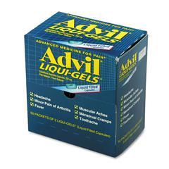 Advil Liqui-Gels, Two-Pack, 50 Packs/Box
