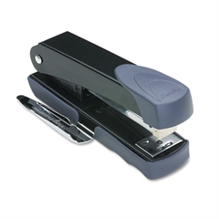 Swingline Compact Stapler with Remover and Label Holder, 20-Sheet Capacity, Black/Gray