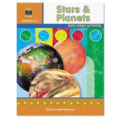 Teacher Created Resources Super Science Activities/Stars Planets, Grades 2-5, 48 Pages