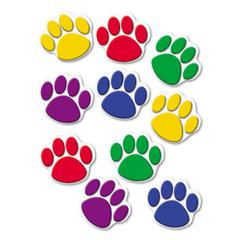 Teacher Created Resources Paw Print Accents, Assorted Colors