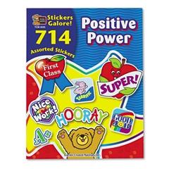 Sticker Book, Positive Power, 714/Pack