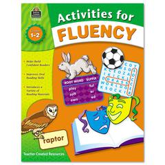 Teacher Created Resources Activities for Fluency, Grades 1 to 2, 144 Pages
