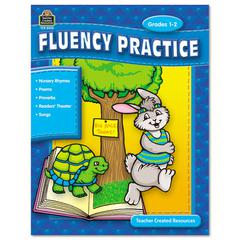 Fluency Practice Set, Three Books, Grades 1-8