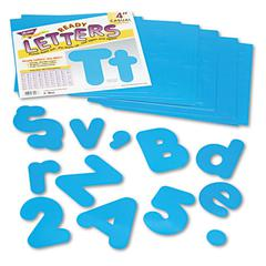 "TREND Ready Letters Casual Combo Set, Blue, 4""h, 182/Set"